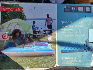 Inflatable mattress QUEEN for Sale in Duarte, CA