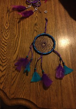 Blue and purple dream catcher for Sale in San Angelo,  TX