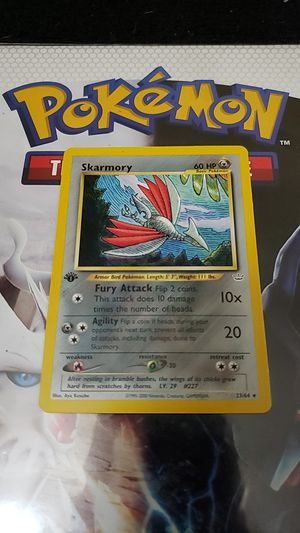 1st edition skarmory for Sale in Covina, CA