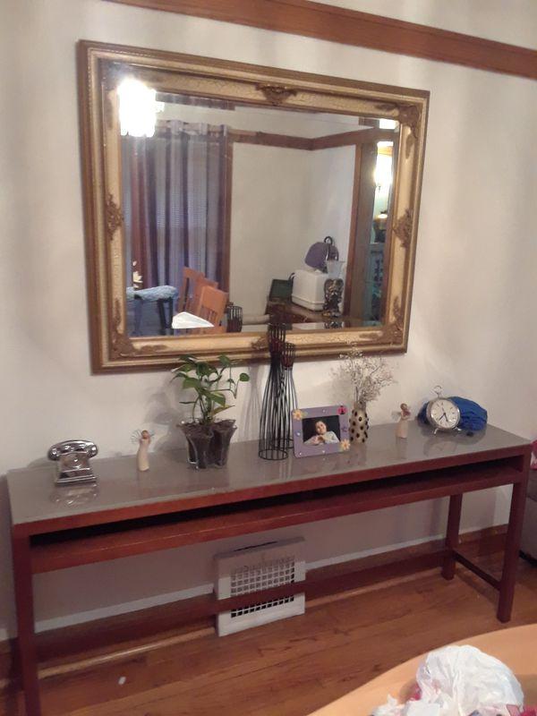 cherry wood decorative table