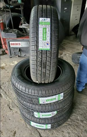 235/70/16 new tires for $370 with balance and installation we also finance {contact info removed} Dorian 7637 airline dr houston TX 77037 for Sale in Houston, TX