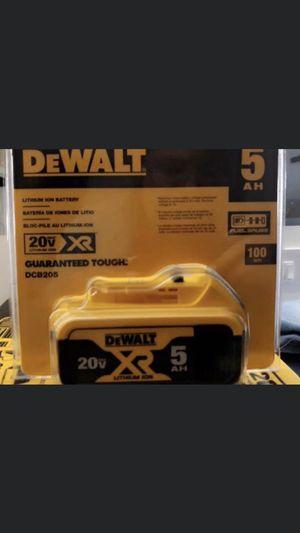 5AH battery for Sale in Houston, TX