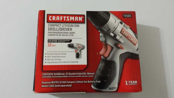 Brand new craftsman cordless drill compact