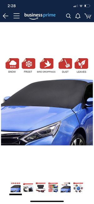 Car windshield cover / front +rear for Sale in Katy, TX
