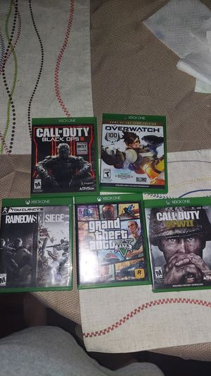 Xbox One Games for Sale in Ontario, CA