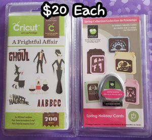 Cricut Cartridges for Sale in Lincoln, NE
