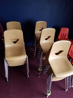 School Chairs Stacking for Sale in Atlanta, GA