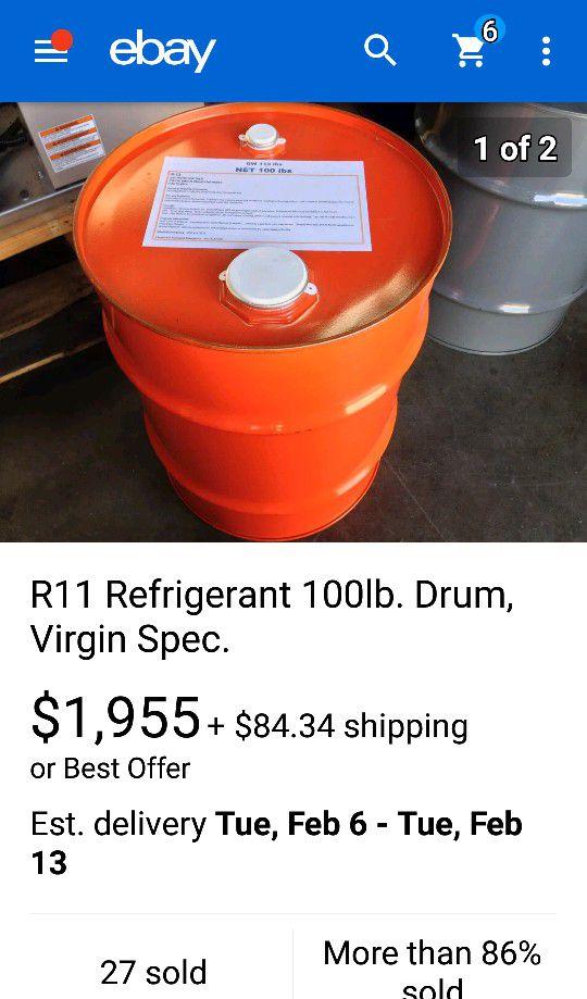 R-11 refrigerant! for Sale in Omaha, NE - OfferUp