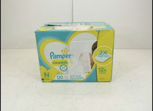Pampers Swaddlers Diapers, Newborn , 120 Count for Sale in Norwalk, CA