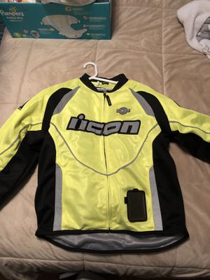 High visible motorcycle jacket for Sale in Gainesville, VA