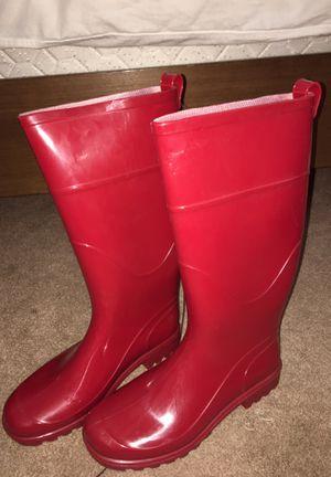 Red rain boots for Sale in Phoenix, AZ