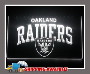 🏈NEW 3D OAKLAND RAIDERS LED SIGN🏈MAN CAVE. BAR. NIGHT LIGHT🏈 for Sale in Ontario, CA