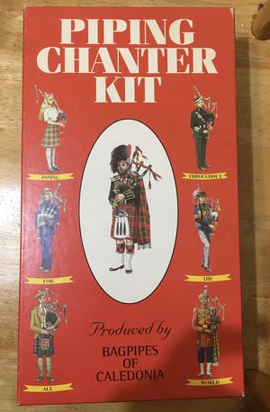 Bagpipe chanter kit music for Sale in Oakdale, CA