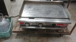 "APW Wyott GGM-36I Champion 36"" 3 Burner Countertop Propane Gas Flat Top Commercial Kitchen Griddle - Manual 75,000 BTU for Sale in Greenville, SC"