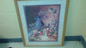 Home interior fruit basket picture for Sale in Norfolk, VA