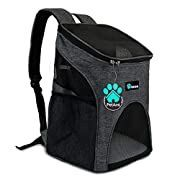PetAmi Premium Pet Carrier Backpack for Small Cats and Dogs | Ventilated Design, Safety Strap, Buckle Support | Designed for Travel, Hiking & Outdoor for Sale in Chino, CA