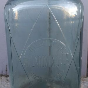 Vintage Black Mountain Spring Water 5-Gallon Glass Jug Bottle for Sale in San Leandro, CA