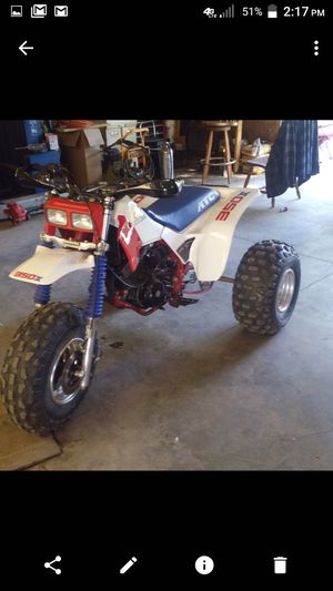 1986 Honda 350x rare and a 4 cylinder Honda cb motor in a mojave quad for Sale in Millington, MI