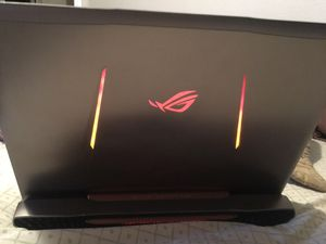 Asus ROG G752vs 17.3 i7 win10 8.00 ram gtx 965m for Sale in Las Vegas, NV
