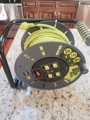 Open reel extension cord for Sale in Buffalo Grove, IL