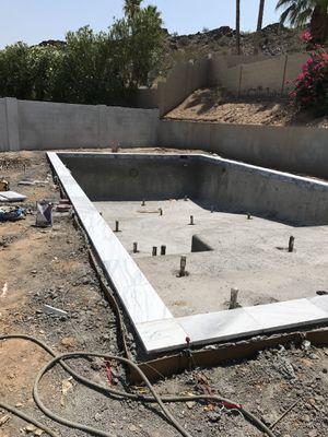Travertine pool coping water line tile for Sale in Phoenix, AZ