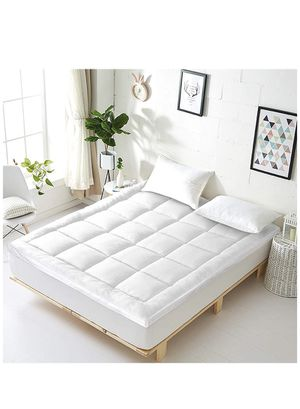 Vonabem Queen Mattress Topper Extra Thick Mattress Pad Cooling Cotton Mattress Cover Pillow Top Mattress Protector Hotel Quailty Quilted Toppers for for Sale in Brooklyn, NY