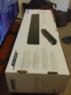 Bose SOLO5 BLUETOOTH W/ UNIVERSAL TV REMOTE CONTROL for Sale in Happy Valley,  OR