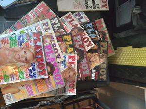 Playboy magazines var. 61 - 06 for Sale in Wichita, KS