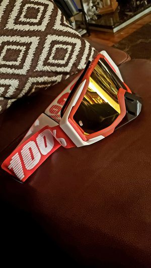 BRAND NEW!!: 100% Racing goggles for Sale in Manteca, CA