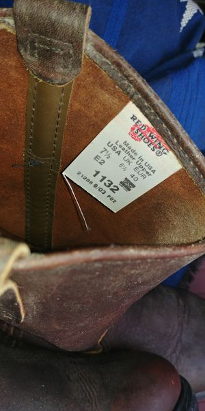 Red Wing size 7.5 Pecos Style brand new boots for Sale in San Diego, CA