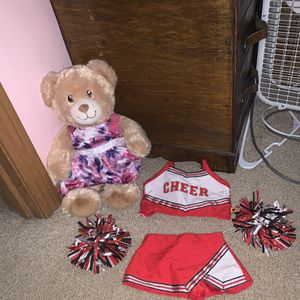 Build A Bear With 2 Outfits for Sale in Sioux Falls, SD