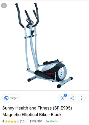 Magnetic Elliptical Machine Trainer by Sunny Health & Fitness for Sale in CORONA DE TUC, AZ