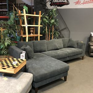 New & In Stock! Dark Grey Sofa & Chaise Only $699! Add Ottoman For $199! for Sale in Vancouver, WA