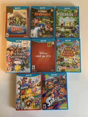 Nintendo Wii u games for Sale in Tampa, FL