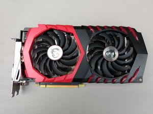 Msi gaming x GTX 1060 6gb Nvidia GeForce for Sale in Braintree, MA
