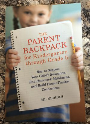 The parents backpack for K through Grade 5 for Sale in Westchase, FL