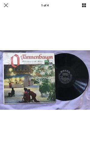 "Werner Müller ‎""O Tannenbaum: Christmas On The Rhine"" Decca Records Holiday LP for Sale in Portland, OR"