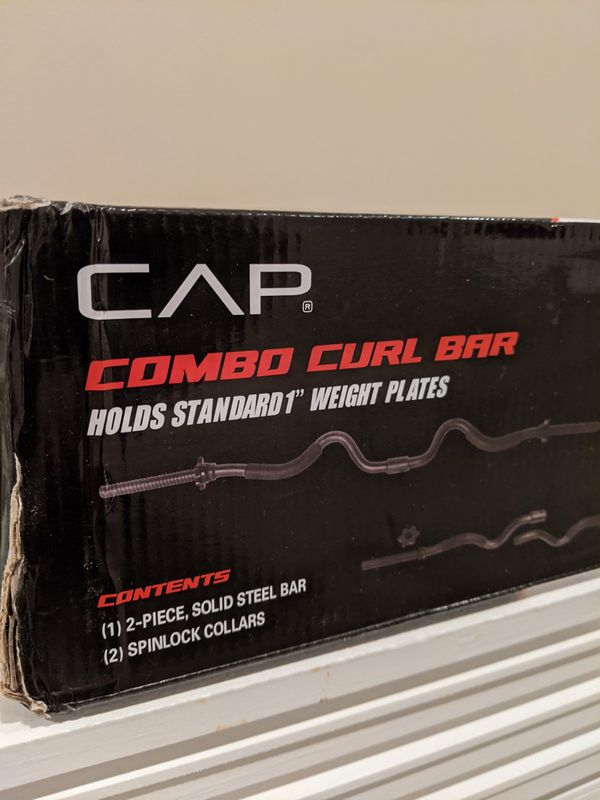 CAP Combo Curl Bar