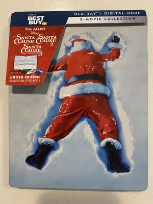 Santa Clause Trilogy Bluray Steelbook for Sale in Aurora, CO