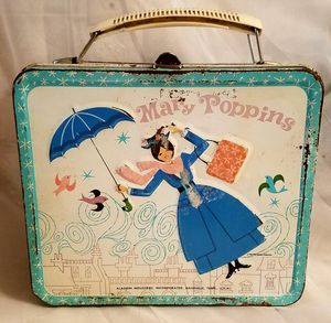 Mary Poppins metal lunch box for Sale in Wichita, KS
