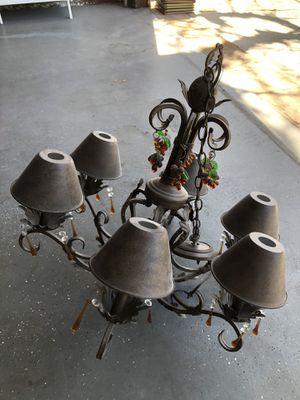 Metal Chandelier Light for Sale in San Fernando, CA