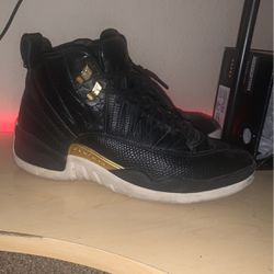Black And Gold Jordan 12 for Sale in North Las Vegas,  NV