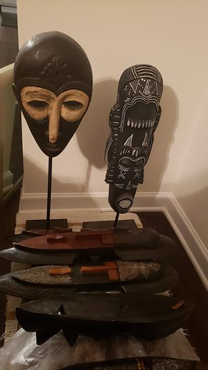 African Masks/Stands for Sale in Durham, NC