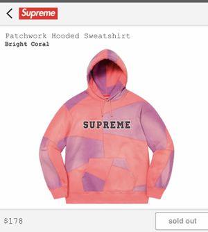 Patchwork hooded sweatshirt *order confirmed* for Sale in Los Angeles, CA