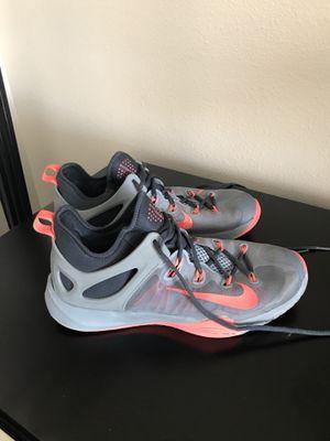 Pre-Owned Men's Gray Nike Zoom Hyper Rev Shoes Sneakers Size 13 for Sale in Kirkland, WA