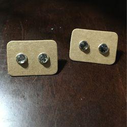 Black Rutile Stud Earrings for Sale in Yakima,  WA