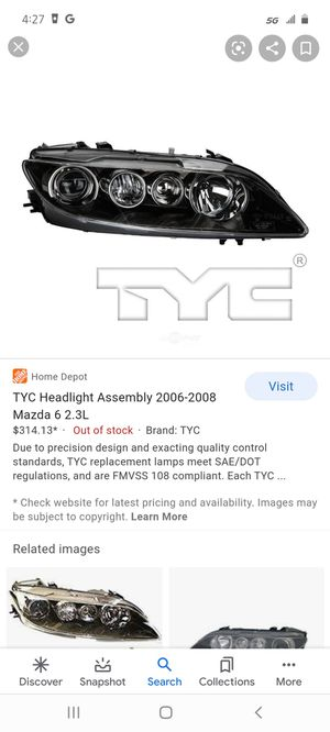 Mazda headlights Brand New for Sale in Seattle, WA