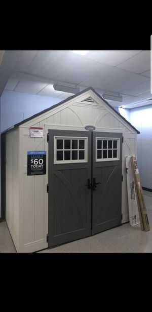 Plastic shed / excellent condition for Sale in Stuart, FL