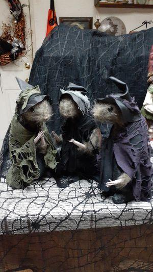 Halloween rat witches for Sale in Hemet, CA
