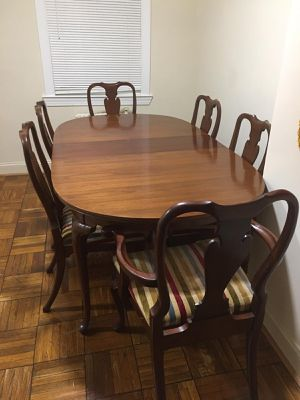 Dining table and chairs $500 for Sale in Arlington, VA
